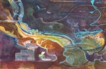 Submerged – Fine Tuning an Abstract Painting
