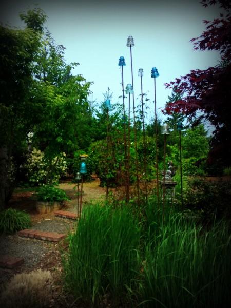 Laurel Hedge Garden Art