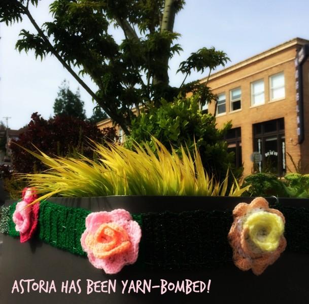 Astoria Yarn Bomb