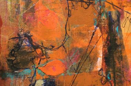 Gelli Print Collage – Autumn Activity