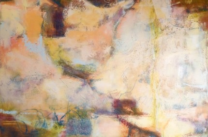 Crossover – Abstract Oil and Wax Painting