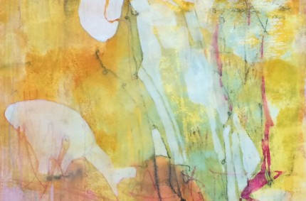 Abstract Painting Evolution – Amber Waves