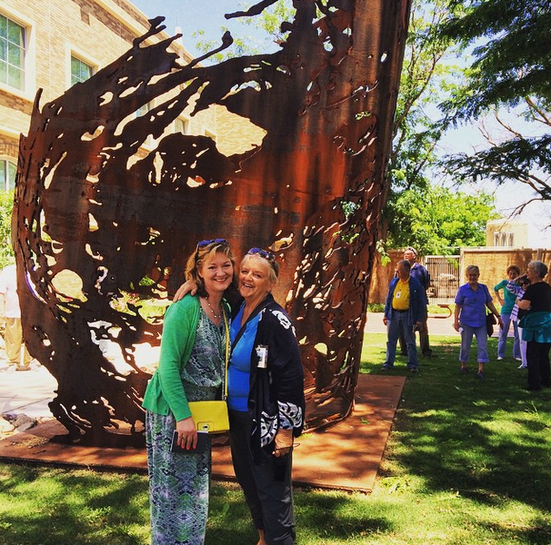 Margaret & I at Texas Tech