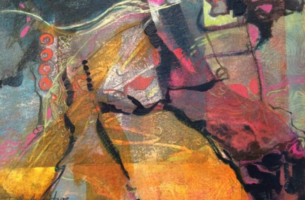 Homestead – Abstract Acrylic Painting