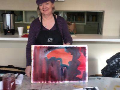 Ruth Armitage Watercolor lesson