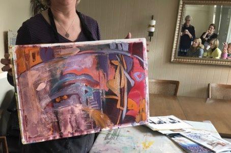 Ruth Armitage work in progress