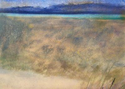 "Evening Vista Watermedia on Paper, 22""x15"" ©Ruth Armitage SOLD"