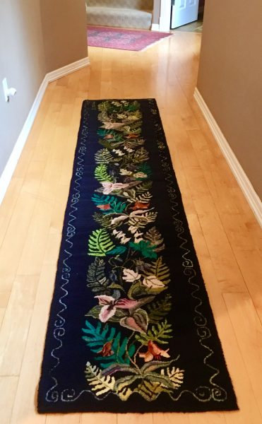 Hand-Hooked Rug