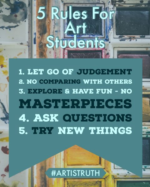 5 Rules for Art Students