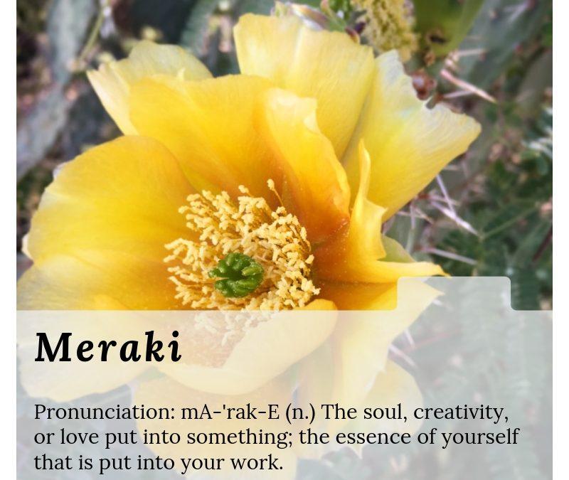 Art Term Thursday: Meraki