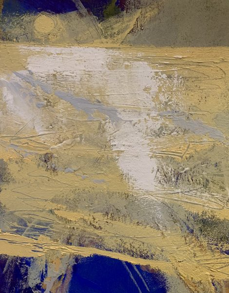 Abstract painting Tidal Plain by Ruth Armitage