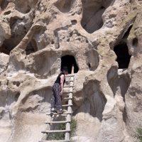 Cave Dwellings at Bandelier