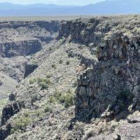 Closer look at the Rio Grande Canyon